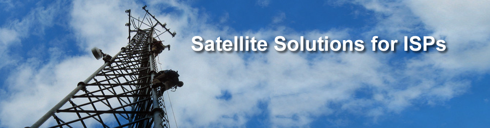 ISP Satellite Internet Solutions for services in rural and remote locations