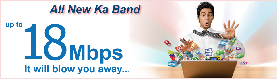 Ka band Satellite Internet Services – Africa, Afghanistan, Libya, Iraq and Middle East