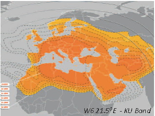 Atlantic Bird AB1 - Ku Band Satellite - At 12.5° West